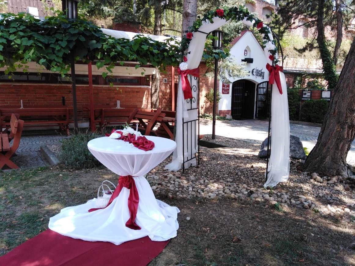 Svatební výzdoba – brána